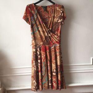 Ralph Lauren Patchwork Dress
